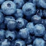 blueberries used to make flavored honey