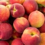 Peaches used to make flavored honey