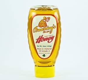 16 oz of clover honey
